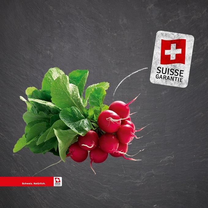 Schweizer Gemüse Plakat