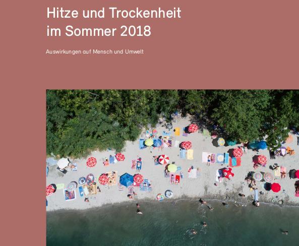 Titelbild Bericht Hitze 2018