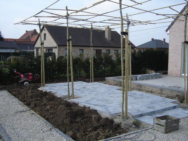 Terrasse Neuanlage